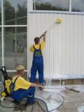 Мытье фасадов и витражного остекления